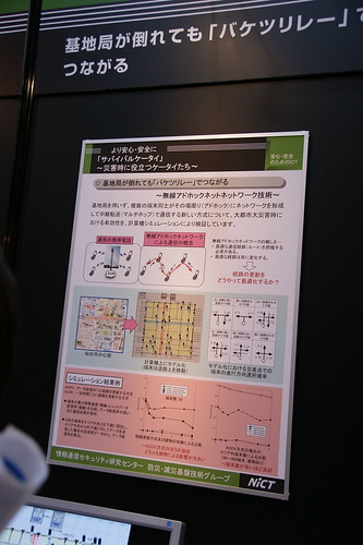 無線アドホック通信(シミュレーション)/NICT