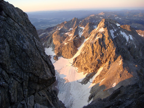 view from the upper saddle