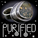 purified art: unique future primitive silver art jewelry
