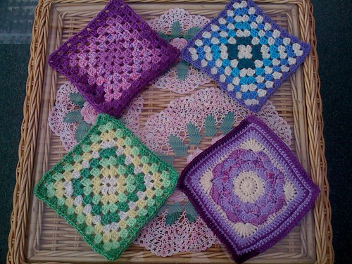 Thank you 'Angel' USA. Beautiful Squares arrived today.