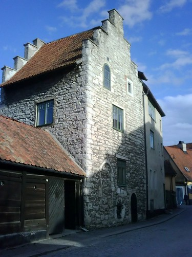 Visby historic building