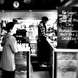 Nothing like a great warm #coffee on a cold #Cronulla morning. #iPhoneography @alexkess