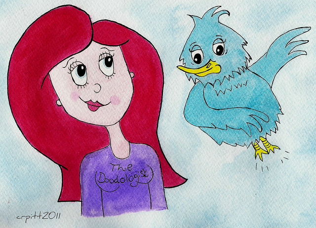 The Doodologist and Twitter Bird
