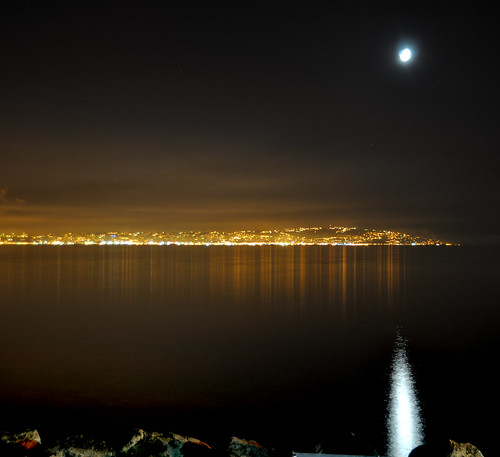 CRESCENT IN LAGUNA BAY by omar lomaxe