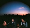 Sunset buddies (d-rad) Tags: travels groezrock groezrock2010