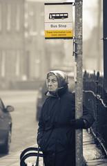 Bus Stop (Dan Baillie) Tags: street portrait woman sepia scotland nikon candid busstop portfolio galloway dumfriesandgalloway puddock wigtownshire danbaillie bailliephotographycouk bailliephotography wigtownshirephotographer dumfriesandgallowayphotography