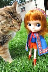 Momo meets Ponyo