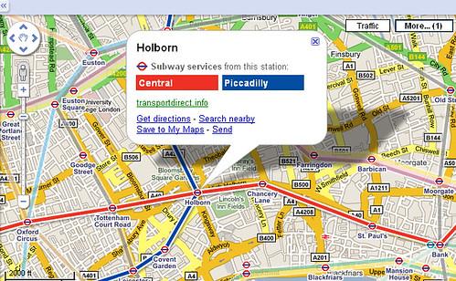 Central London Google Map.London Underground Tube Diary Going Underground S Blog