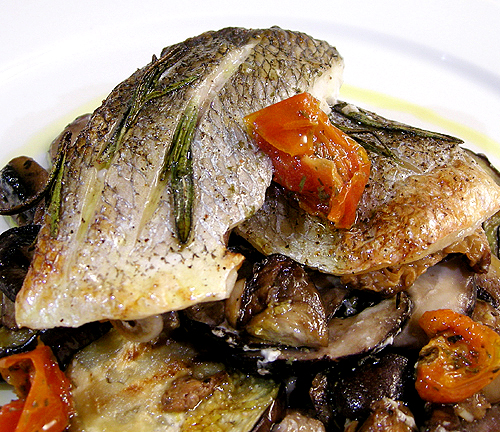 烤鯛魚-090123