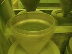 Matcha tea being ground (Matcha Source) Tags: greentea teafactory teafields japanesetea greenteapowder matchatea matchafactory