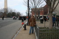 Meg in the Crowd (pete) Tags: washingtondc washington obama inauguration barackobama inauguration09
