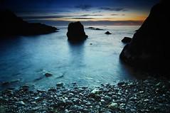 Saturn (cuellar) Tags: light sea seascape luz beach water marina sunrise mar spain agua rocks nightshot playa cuellar amanecer shore almeria rocas abigfave cuellar2009top20