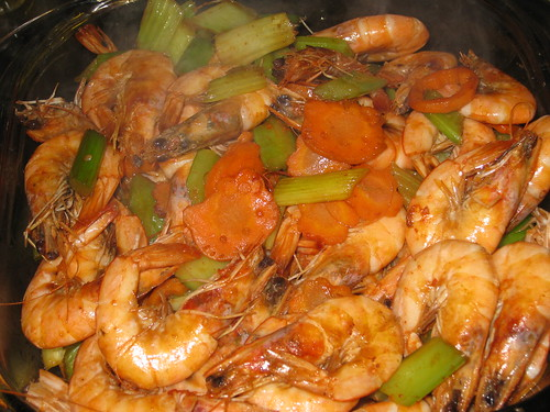 Stir Fried Shrimp with Veggies