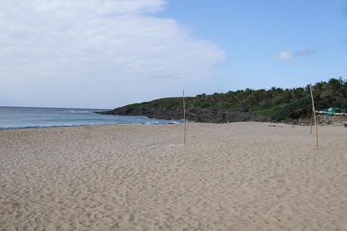 simple beach.