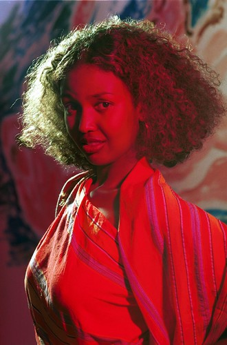 Beautiful Somali Lady Philadelphia Studio Portrait African
