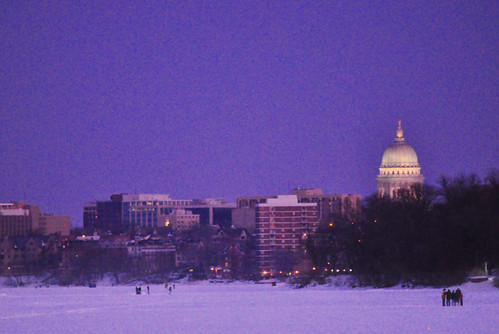 Twilight Walk Along Lake Mendota