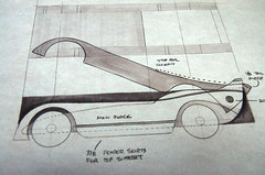 2009 Pinewood Derby Car #2 (Funny Car Sketch) (cdubya1971) Tags: wood ohio car pine race racecar design track drawing boyscouts 2009 derby pinewood cubscouts bsa pinewoodderby funnycar csca pinecar pinewoodderbycar