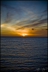 sunset (PimpCL) Tags: cruise sunset sky water mexico catalina pacific oceran