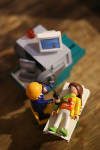 Playmobil Ultrasound