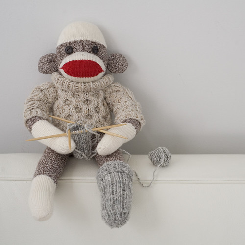 knitting monkey
