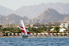 Sharm El Sheikh. Naama Bay. (WomEOS) Tags: holiday beach redsea egypt sharmelsheikh 2009 naamabay