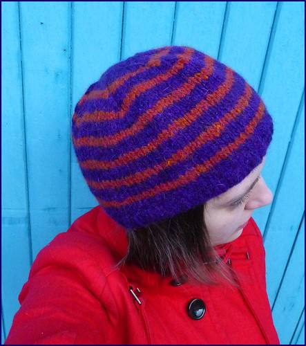 stripy hat
