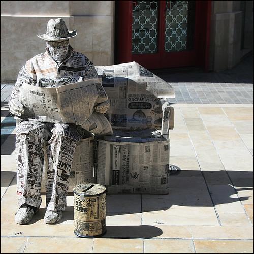 Newpaper Guy