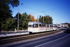 no linie tram gotha 1995 12 articulated rostock 704 unit beiwagen rostocker strasenbahn gelenkwagen
