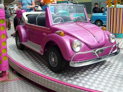 Volkswagen Beetle Pink. Pink Volkswagen Beetle