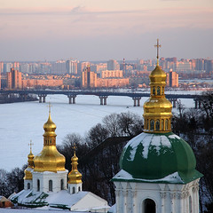 2 cities / 2  (marina.shakleina) Tags: winter kiev  orthodoxy lavra  kievpechersklavra