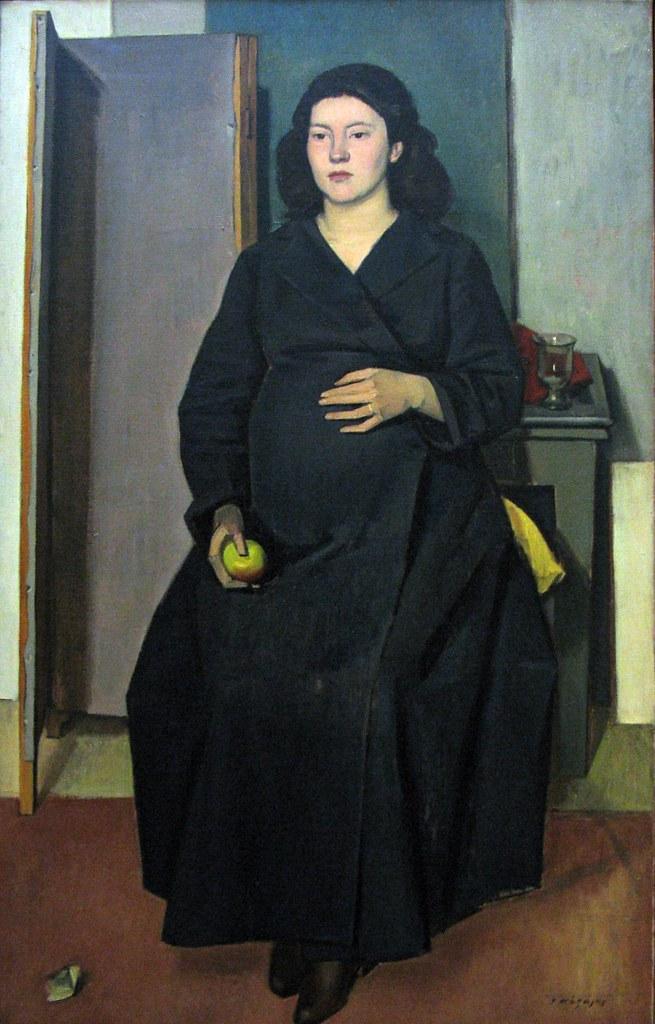 """Pregnant Woman"" (1948) - Moralis Yannis (1916-2009)"