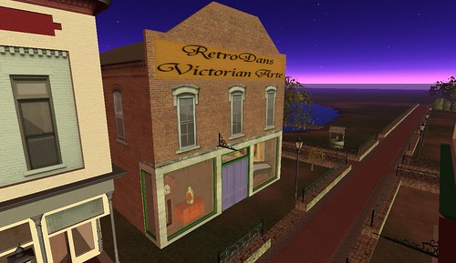 Quirm, a Victorian Village in the OSGrid