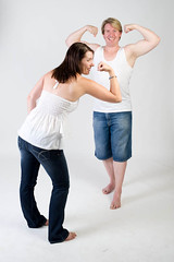 . (sengsta) Tags: portrait studio lights couple shoot dean whitebackground donne strobe