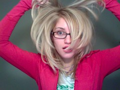got new hairz (ijustine) Tags: ijustie justineezarikphotobooth