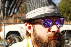 (evan.finn) Tags: golf beard 50mm colorado smoke hats boulder tatoo oakley nikon200