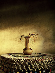 Dead Nature... Still Life... (AnnuskA  - AnnA Theodora) Tags: stilllife table golden shadows wheat details textures deadnature 3000v120f areyouthefourthsmilinggirlinthethirdrow