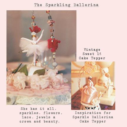 sparkle ballerina cake topper new copy