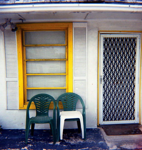 Two Chairs  U.S.1.  Florida Keys