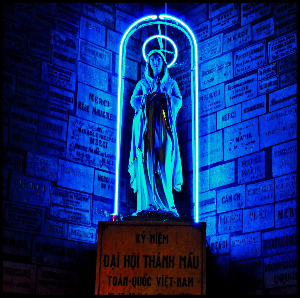 Neon Virgin of Saigon