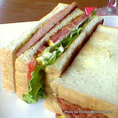火烤三明治-「海邊的卡夫卡」咖啡館@2006秋