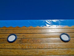 sunny day (Lucilla Bertocchini) Tags: blue light dock colore blu azzurro livorno molo luce leghorn lucilla bertocchini lucillabertocchini cosecco