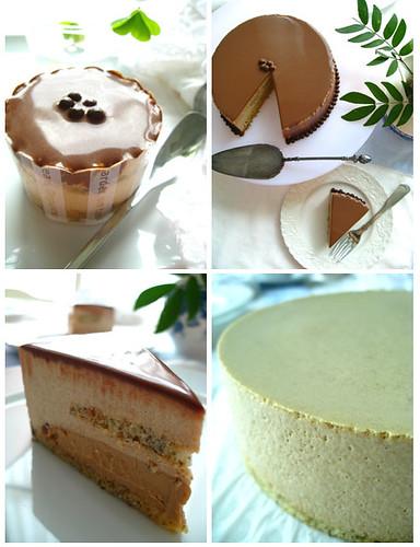 earl grey tea mousse cake