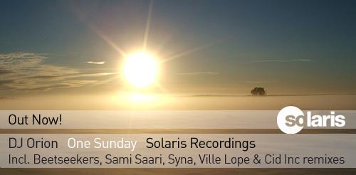 DJ Orion - One Sunday (Solaris Recordings)