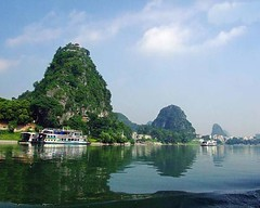 Diecai Hill (yeschinatour.com) Tags: china mountains guilin hill waters chinatour chinatravel diecai diecaihill
