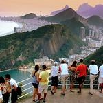 Pão de Açúcar - Urca - Copacabana - Leme - Brasil - Rio de Janeiro - Brazil