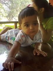 Aten thinking (Ankur P) Tags: kids twins babies fraternal bhandardara