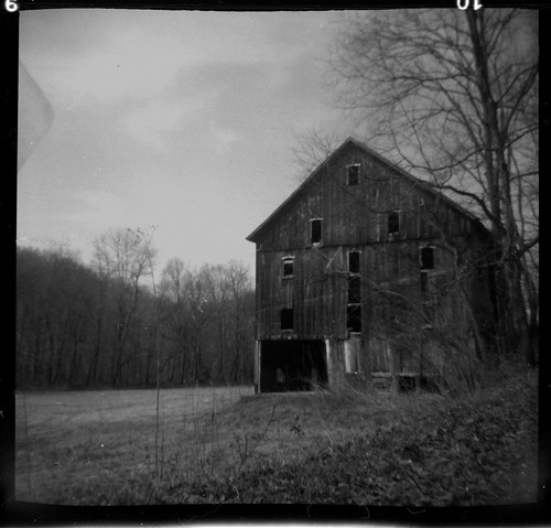 Creepy barn