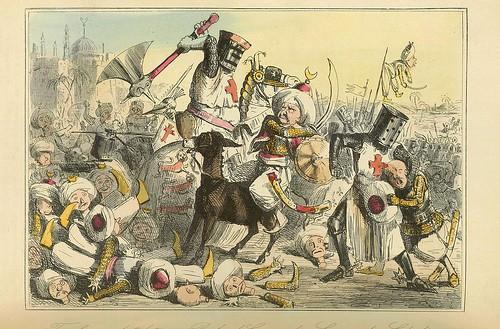 001-Terrible combate entre Ricardo Corazon de Leon y Saladino