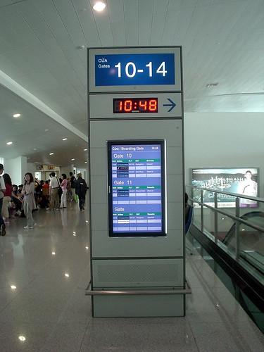 11.胡志明機場Boarding Gate