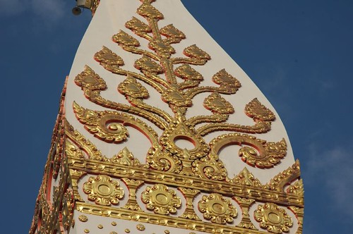 Temple detail, Wat That Phanom